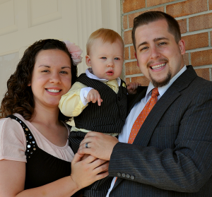 Pastor Tucker Bailey and family